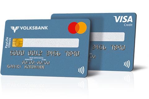kreditkarten von mastercard und visa volksbank wien. Black Bedroom Furniture Sets. Home Design Ideas